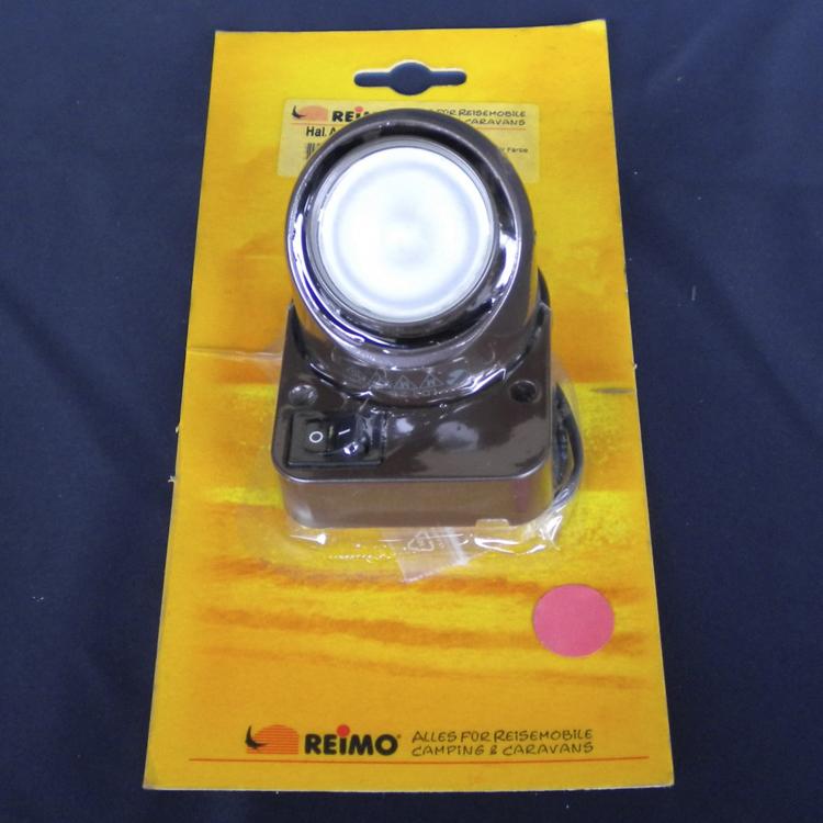 REIMO スポットライト(スイッチ付き) 茶画像