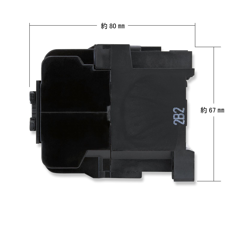 【#181015】コンタクタリレー 110V-15A  MUF10-4