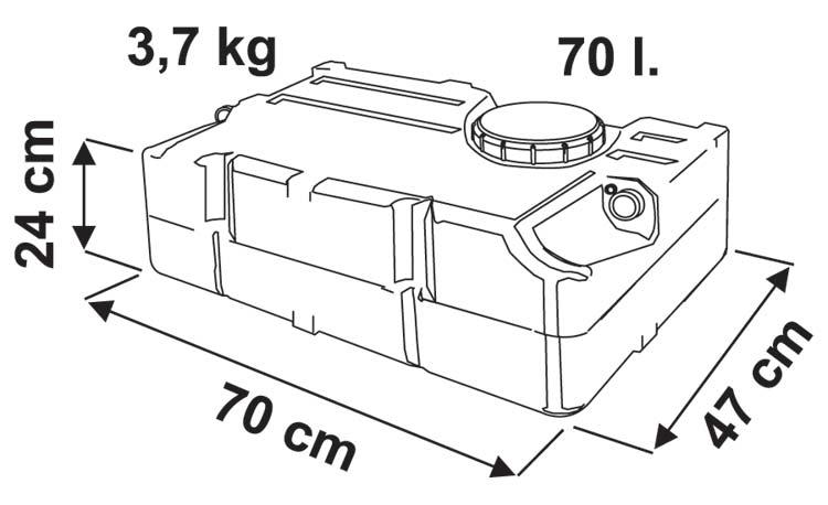 フィアマタンク70L画像
