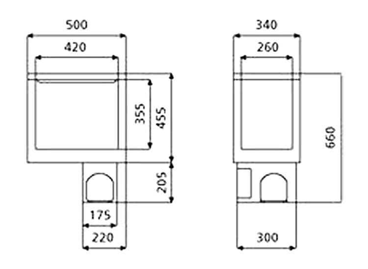コンプレッサー式冷蔵庫 40L画像